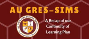 Highlighting the Successes of Au Gres-Sims' Continuity of Learning Plan