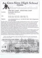 Otter Basketball Camp Comes to Au Gres-Sims High School