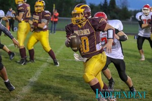 Caden Zeien Earns the 2018 Golden Helmet Class D Player of the Year Award