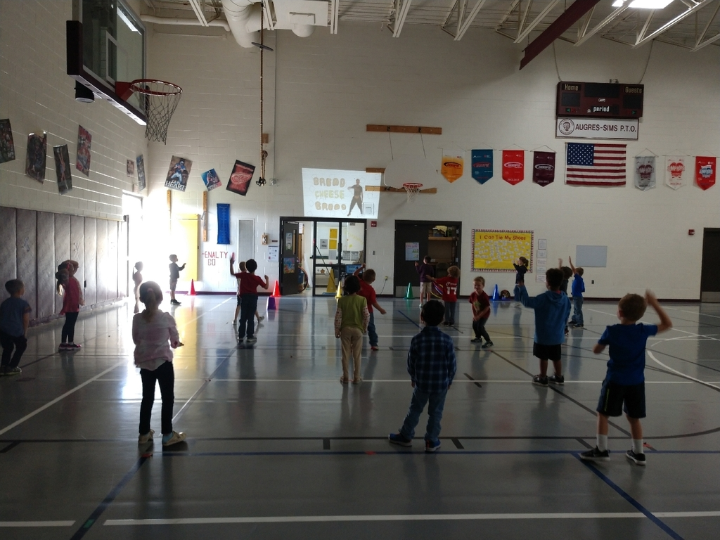 K-3 PE students danced their way to unlocking another RUTF to help feed a child in need.
