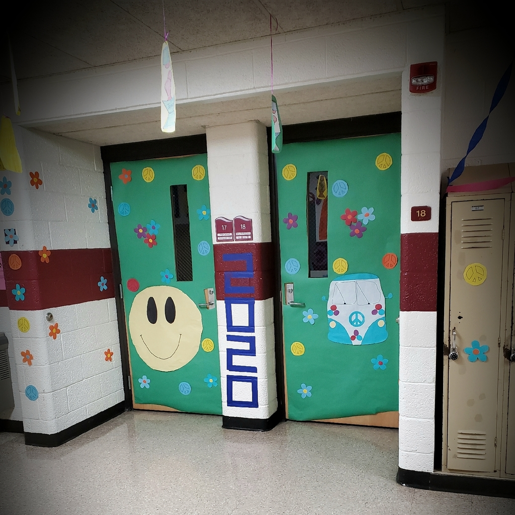 Hallway decorating!