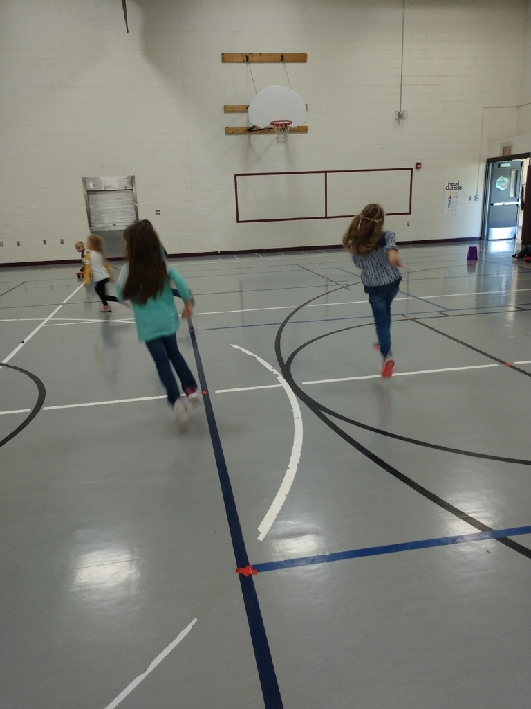 First graders have been working hard on over hand throw, locomotor skills, and scooter safety!