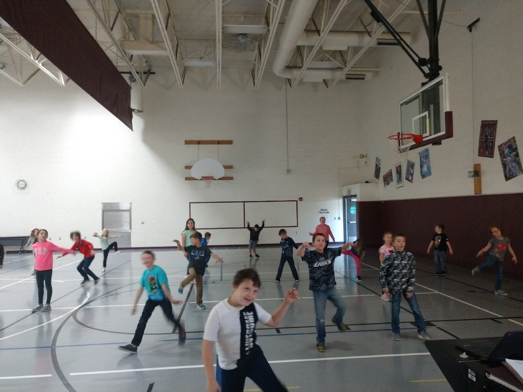 What a great day is PE! Today we danced to a Halloween song, worked on upper body strength on scooters, coordination with balloons, and throwing at moving targets!
