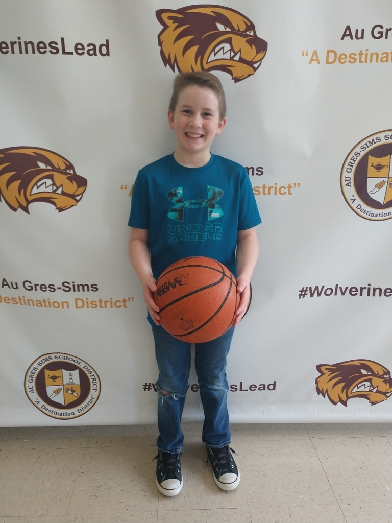 Congrats to Brayden Strange for winning the district K of C free throw competition in Standish this weekend! Brayden will move on to the next and compete next weekend representing Au Gres.