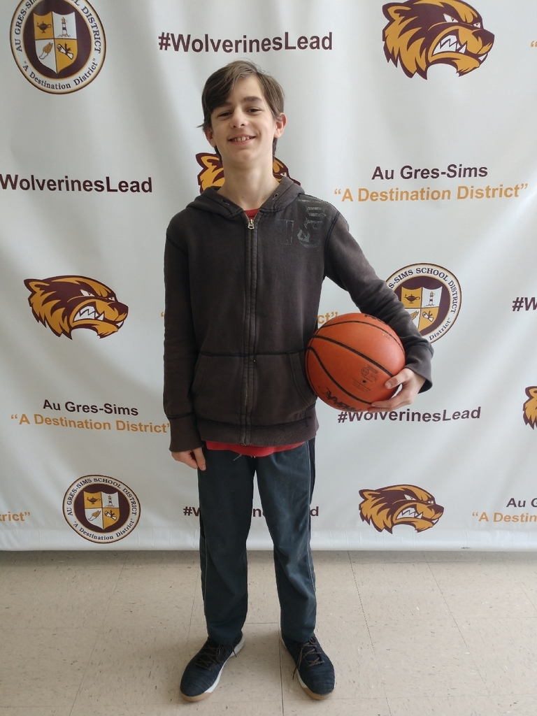 Congratulations to Lucas Verdusco who won the district K of C free throw competition last week in Standish. Lucas will represent Au Gres this weekend in the next round of competition.