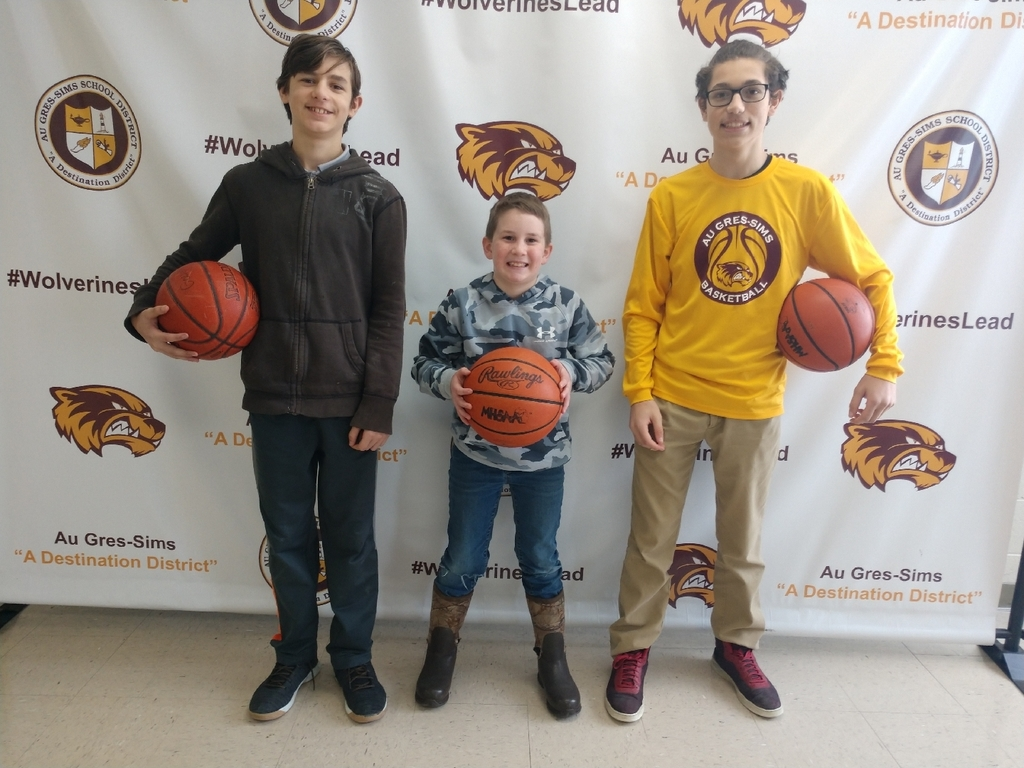 Congrats to these three young men that competed this past weekend in the K of C Free Throw Competition in Merrill. 9u Brayden Stange 3rd place, 12u Lucas Verdusco 3rd place, and Bryce Verdusco 2nd place!