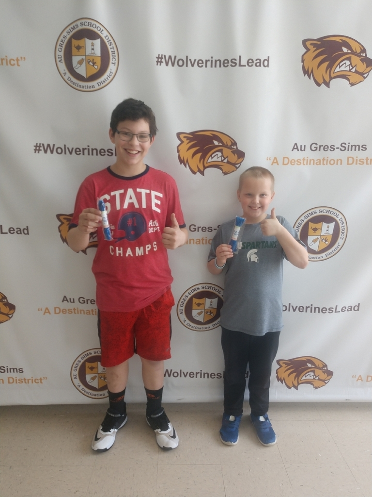 Congrats to Devon and Kaysen for earning their second marathon in Marathon Kids!