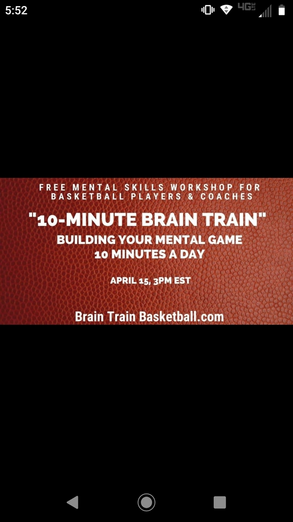 Wolverines, check out the link for hall of fame Coach Ehlen's free 1-hour Zoom workshop on how b-ball players and coaches can add mental training to their game in just 10min a day.  https://m.facebook.com/story.php?story_fbid=230321444997306&id=105585677470884